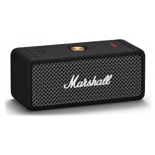 Marshall - Emberton - Nero - Bluetooth Speaker Portatile - Altoparlante Iconico di Alta Qualità Premium Classico