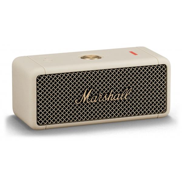 Marshall - Emberton - Crema - Bluetooth Speaker Portatile - Altoparlante Iconico di Alta Qualità Premium Classico