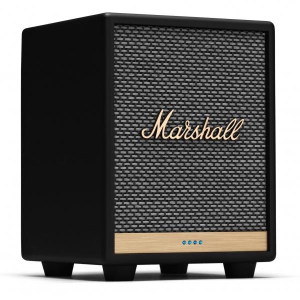 Marshall - Uxbridge Voice with Amazon Alexa - Nero - Bluetooth Speaker Portatile - Altoparlante Iconico di Alta Qualità Premium