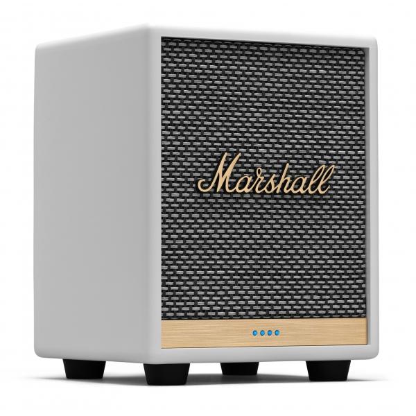 Marshall - Uxbridge Voice with Amazon Alexa - Bianco - Bluetooth Speaker Portatile - Altoparlante Iconico - Alta Qualità Premium