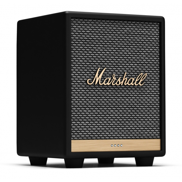 Marshall - Uxbridge Voice with Google Assistant - Nero - Bluetooth Speaker Portatile - Altoparlante di Alta Qualità Premium