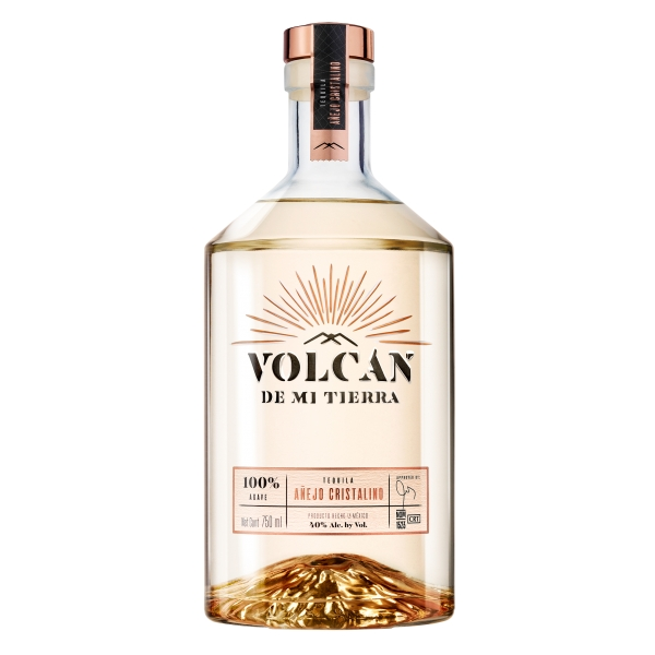 Volcán de mi Tierra - Cristalino - Superpremium Tequila - Exclusive Luxury Limited Edition - 700 ml