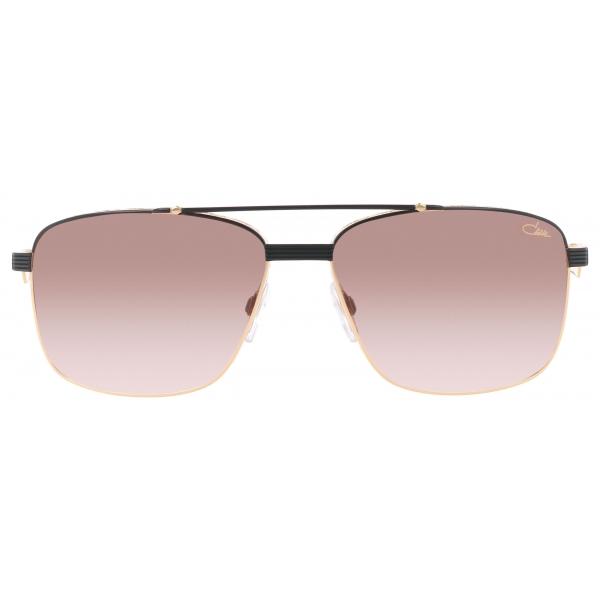 Cazal - Vintage 9101 - Legendary - Black Gold Brown - Sunglasses - Cazal Eyewear