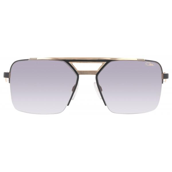 Cazal - Vintage 9102 - Legendary - Black Gold Grey - Sunglasses - Cazal Eyewear