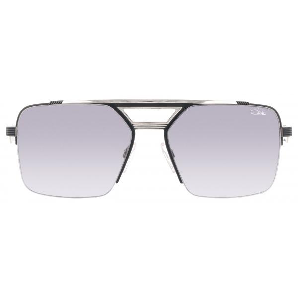Cazal - Vintage 9102 - Legendary - Black Silver Grey - Sunglasses - Cazal Eyewear