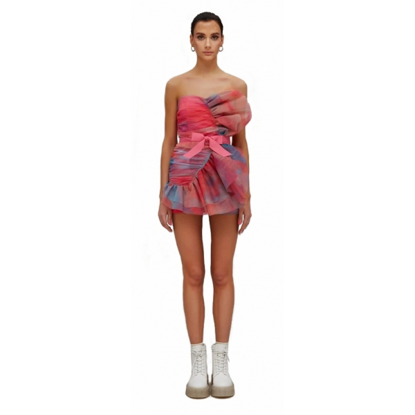 Teen Idol - Mini Dress in Tulle Fenice - Multicolor - Abiti - Teen-Ager - Luxury Exclusive Collection