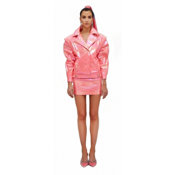 Teen Idol - Scorpion Jacket - Pink - Jackets - Teen-Ager - Luxury Exclusive Collection