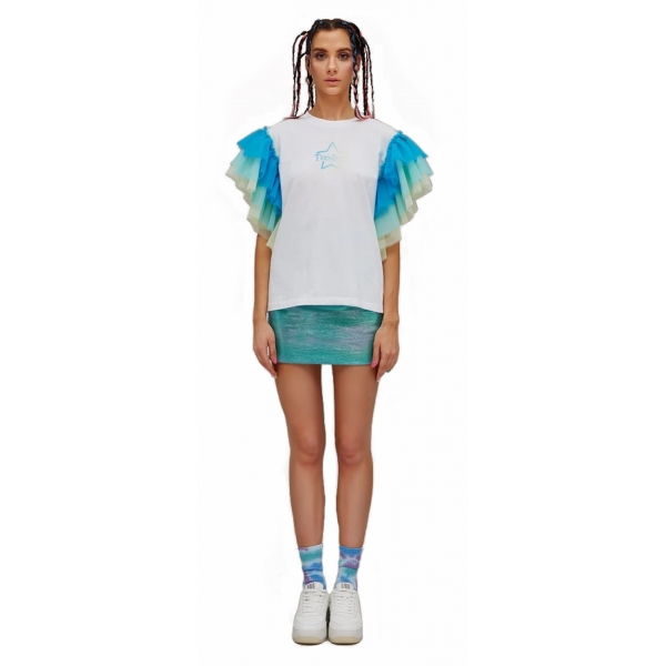 Teen Idol - Sole T-Shirt - Turquoise - T-Shirt - Teen-Ager - Luxury Exclusive Collection