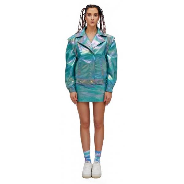 Teen Idol - Scorpion Jacket - Turquoise - Jackets - Teen-Ager - Luxury Exclusive Collection