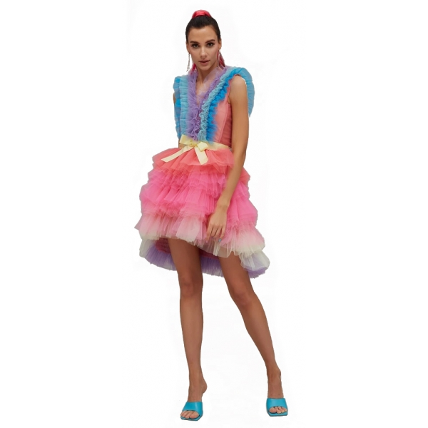 Teen Idol - Idra Tulle Mini Dress - Multicolor - Dresses - Teen-Ager - Luxury Exclusive Collection