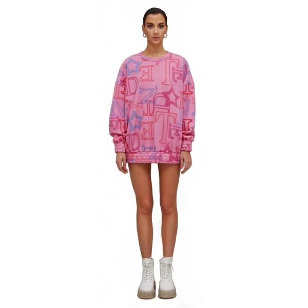 Teen Idol - Giove Sweatershirt - Pink - Sweatshirts - Teen-Ager - Luxury Exclusive Collection