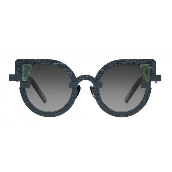 Potrait Eyewear - Charlotte Green Marble (C.07) - Sunglasses - Handmade in Italy - Exclusive Luxury Collection