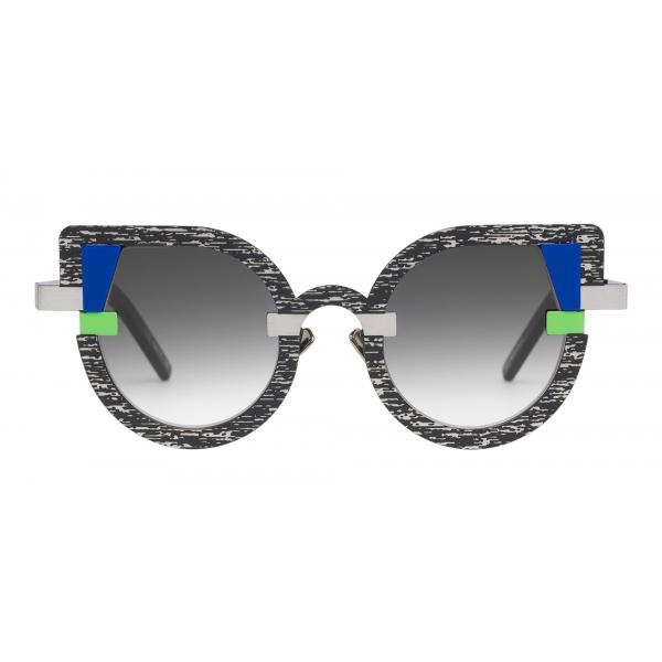 Potrait Eyewear - Charlotte Television (C.03) - Occhiali da Sole - Realizzati a Mano in Italia - Exclusive Luxury Collection