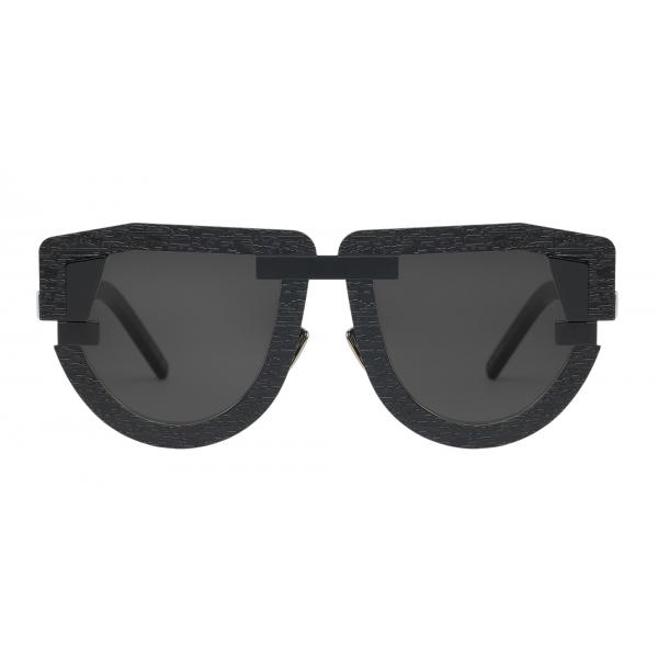 Potrait Eyewear - Interface Nero (C.01) - Occhiali da Sole - Realizzati a Mano in Italia - Exclusive Luxury Collection