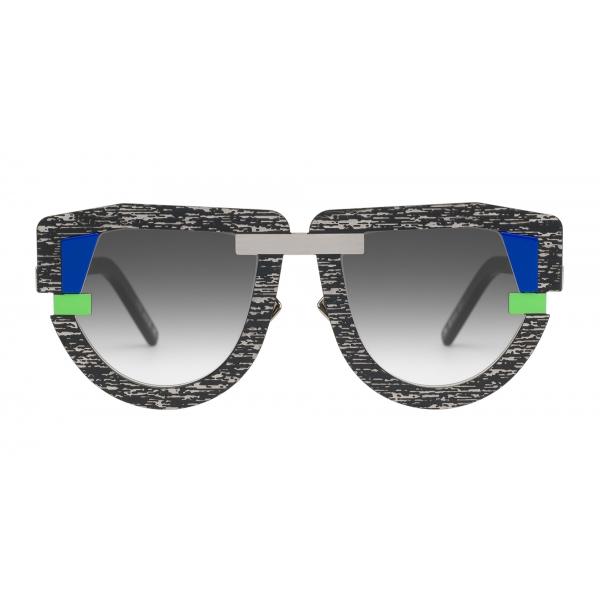 Potrait Eyewear - Interface Television (C.03) - Occhiali da Sole - Realizzati a Mano in Italia - Exclusive Luxury Collection