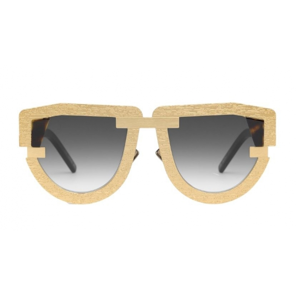 Potrait Eyewear - Interface Gold (C.04) - Sunglasses - Handmade in Italy - Exclusive Luxury Collection