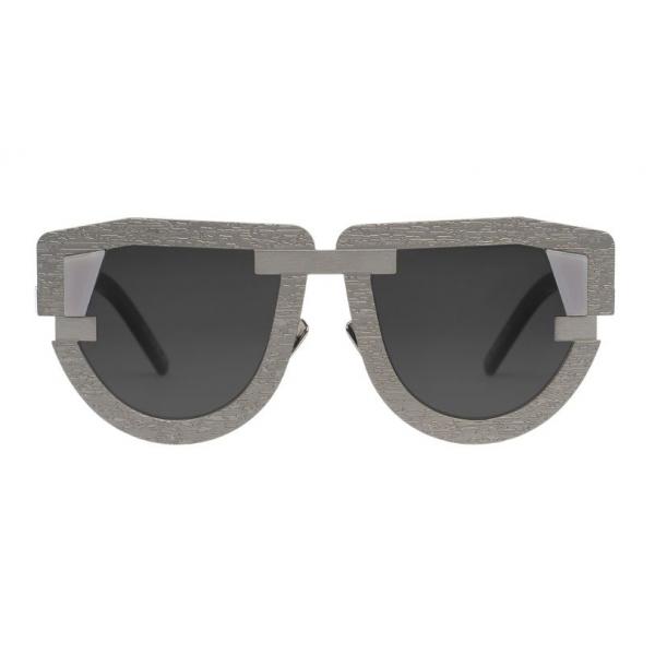 Potrait Eyewear - Interface Argento (C.05) - Occhiali da Sole - Realizzati a Mano in Italia - Exclusive Luxury Collection