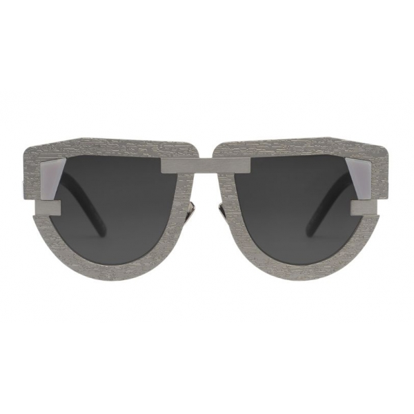 Potrait Eyewear - Interface Silver (C.05) - Sunglasses - Handmade in Italy - Exclusive Luxury Collection