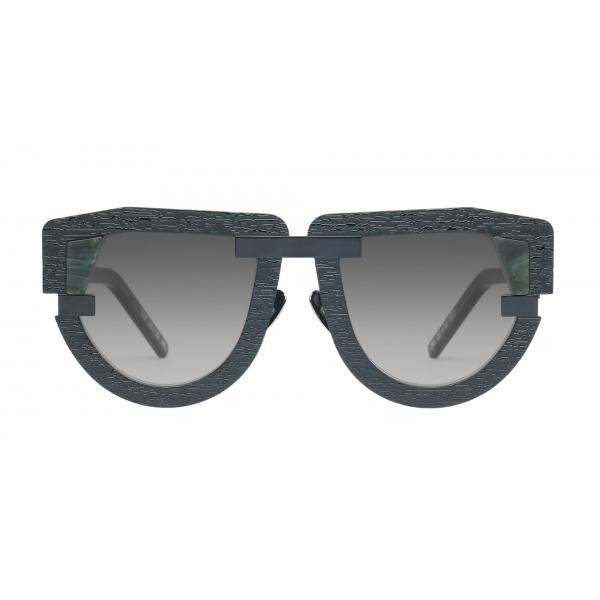 Potrait Eyewear - Interface Marmo Verde (C.07) - Occhiali da Sole - Realizzati a Mano in Italia - Exclusive Luxury Collection