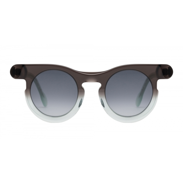 Potrait Eyewear - Lori Brown and Green (C.06) - Sunglasses - Handmade in Italy - Exclusive Luxury Collection