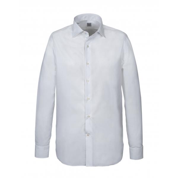 Alessandro Gherardi - Camicia a Manica Lunga - Bianco - Camicia - Handmade in Italy - Luxury Exclusive Collection