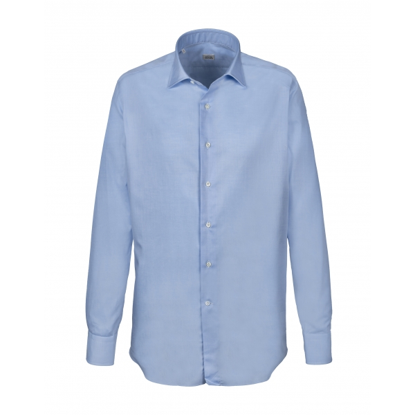 Alessandro Gherardi - Long Sleeve Shirt - Light Blue - Shirt - Handmade in Italy - Luxury Exclusive Collection