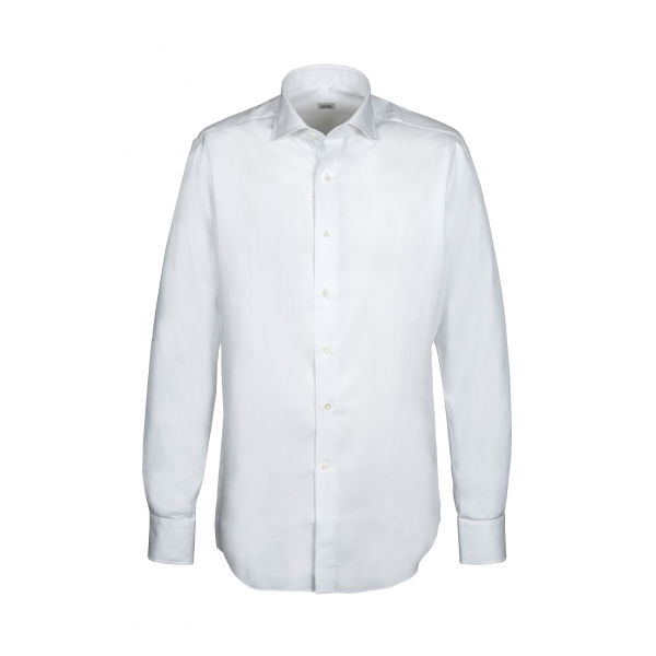 Alessandro Gherardi - Long Sleeve Shirt - White - Shirt - Handmade in Italy - Luxury Exclusive Collection