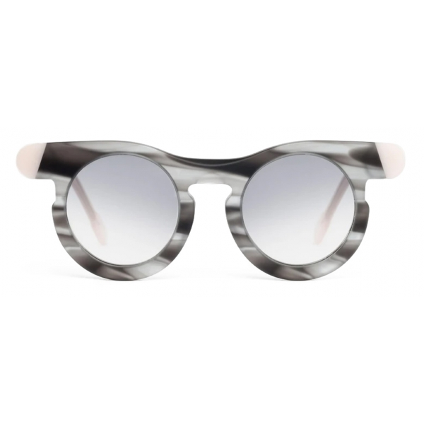 Potrait Eyewear - Lori Grey Havana (C.09) - Sunglasses - Handmade in Italy - Exclusive Luxury Collection
