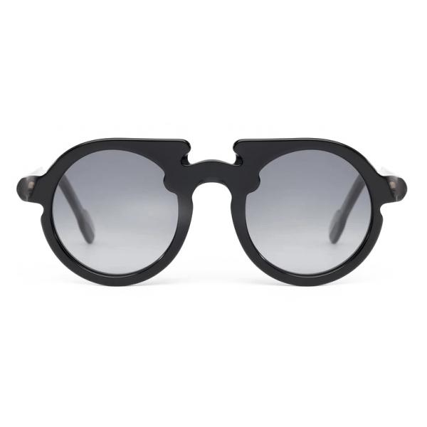 Potrait Eyewear - Flavin Nero (C.01) - Occhiali da Sole - Realizzati a Mano in Italia - Exclusive Luxury Collection