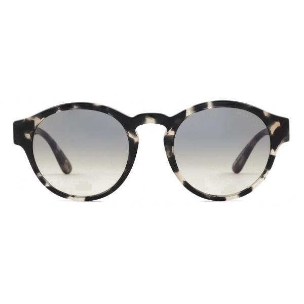 Giorgio Armani - Occhiali da Sole Donna in Materiale Sostenibile - Grigio Marrone - Occhiali da Sole - Giorgio Armani Eyewear
