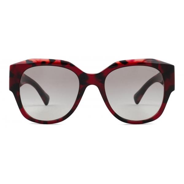 Giorgio Armani - Occhiali da Sole Donna Forma Squadrata - Havana Fumo - Occhiali da Sole - Giorgio Armani Eyewear