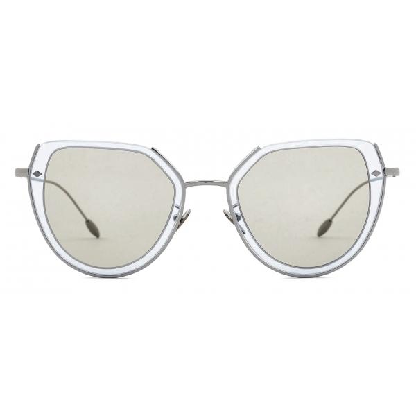 Giorgio Armani - Square Shape Women Sunglasses - Gunmetal Tundra - Sunglasses - Giorgio Armani Eyewear