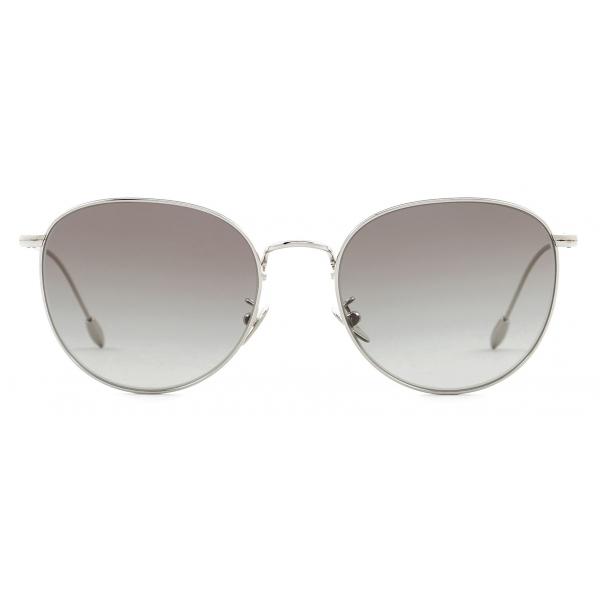 Giorgio Armani - Panthos Shape Women Sunglasses - Silver Smoke - Sunglasses - Giorgio Armani Eyewear