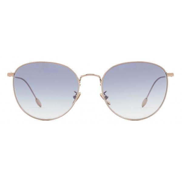 Giorgio Armani - Occhiali da Sole Donna Forma Panthos - Oro Rosa Blu - Occhiali da Sole - Giorgio Armani Eyewear
