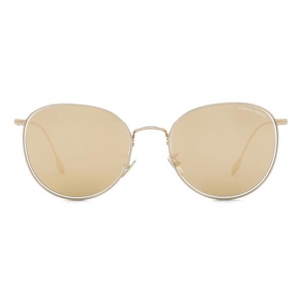 Giorgio Armani - Panthos Shape Women Sunglasses - Gold - Sunglasses - Giorgio Armani Eyewear