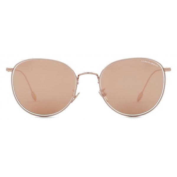 Giorgio Armani - Occhiali da Sole Donna Forma Panthos - Oro Rosa - Occhiali da Sole - Giorgio Armani Eyewear