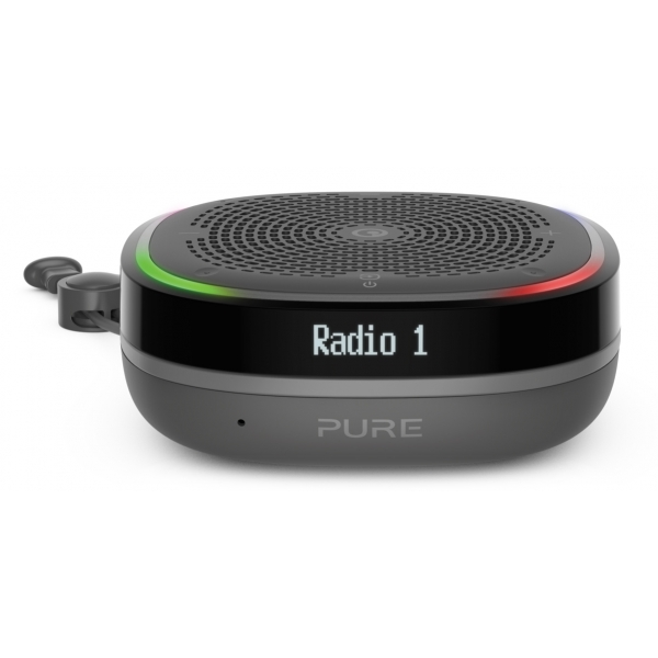 Pure - StreamR Splash - Charcoal - Smart Radio - High Quality Digital Radio