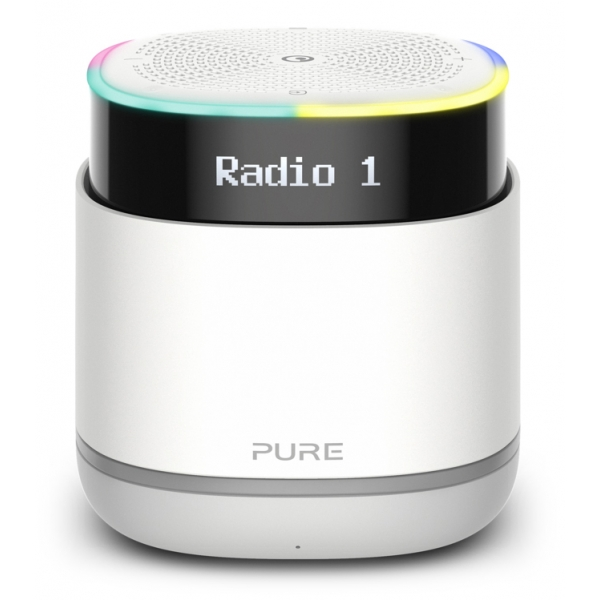 Pure - StreamR - Stone Grey - Portable Smart Radio with Bluetooth and Alexa - High Quality Digital Radio
