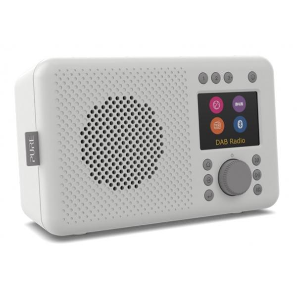 Pure - Elan Connect - Stone Grey - Internet Radio with DAB+ and Bluetooth - High Quality Digital Radio