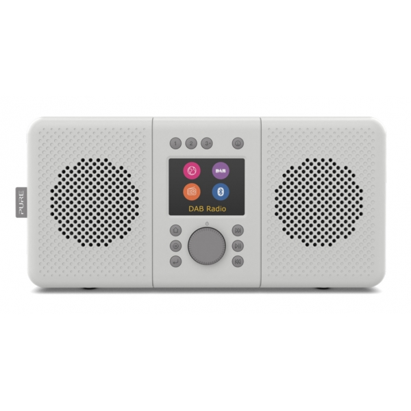 Pure - Elan Connect+ - Stone Grey - Stereo Internet Radio with DAB+ and Bluetooth - High Quality Digital Radio