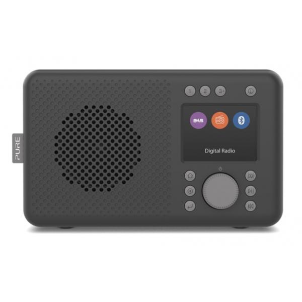 Pure - Elan DAB+ - Charcoal - Portable DAB+ Radio with Bluetooth - High Quality Digital Radio