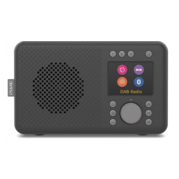 Pure - Elan Connect - Charcoal - Internet Radio with DAB+ and Bluetooth - High Quality Digital Radio