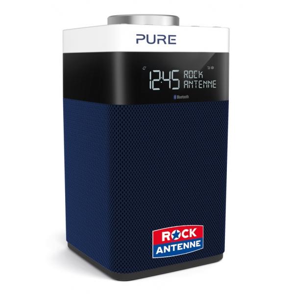 Pure - Pop Midi with Bluetooth - Blue - Rock Antenne Special Edition Blue - High Quality Digital Radio