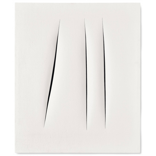 Exclusive Art - Lucio Fontana - Concetto Spaziale - Installazione