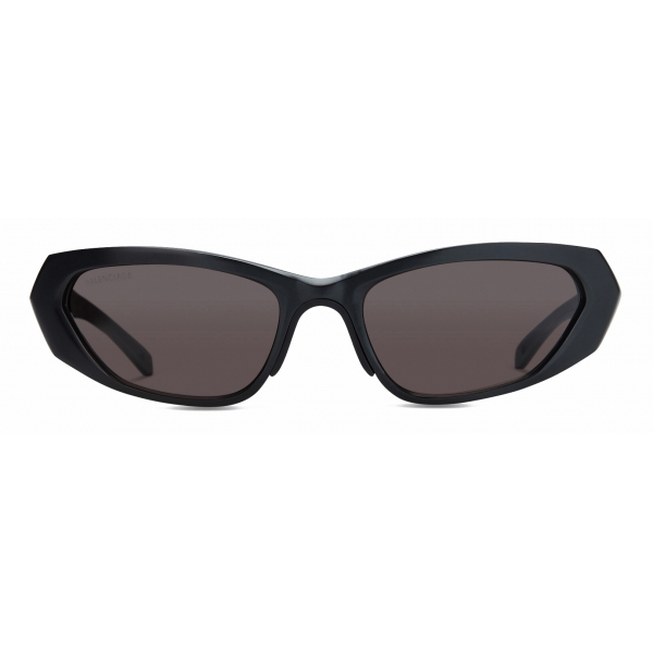 Balenciaga - Metal Rectangle Sunglasses - Black - Sunglasses - Balenciaga Eyewear