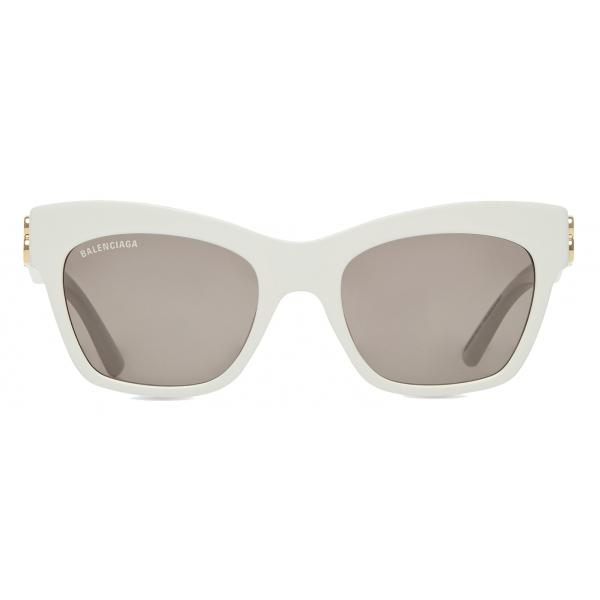 Balenciaga - Dynasty Butterfly Sunglasses - White - Sunglasses - Balenciaga Eyewear