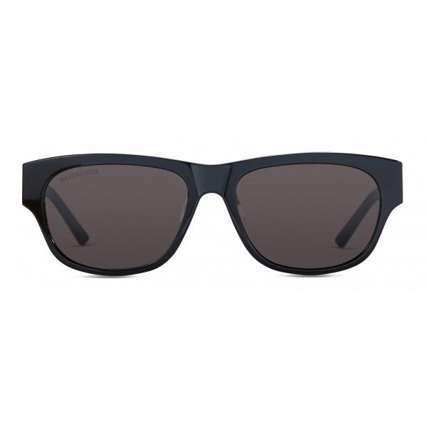 Balenciaga - Occhiali da Sole Flat Rectangle 2.0 - Nero - Occhiali da Sole - Balenciaga Eyewear
