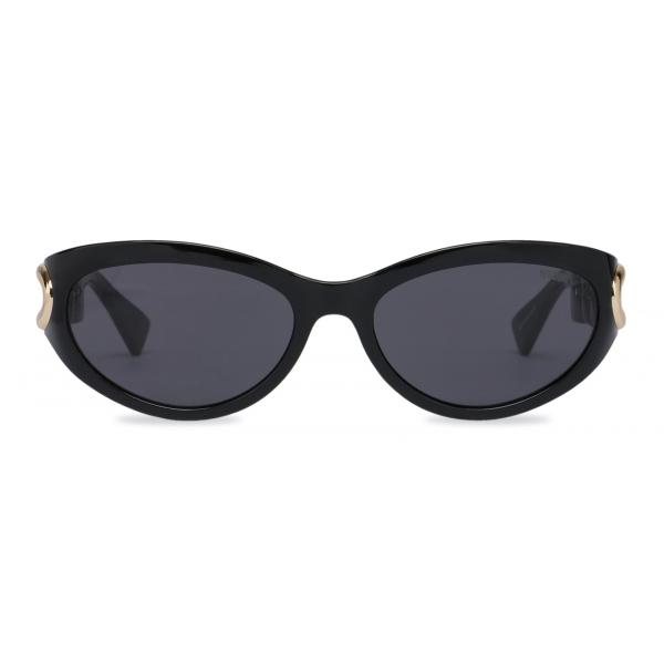 Moschino - Chain Bijou Acetate Sunglasses - Black - Moschino Eyewear