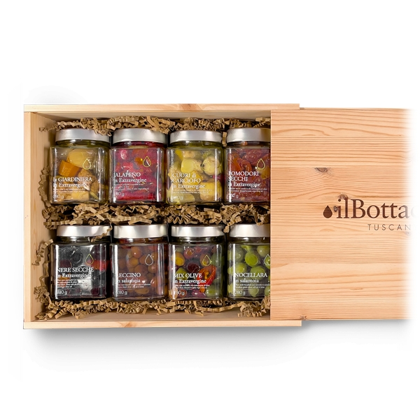 Il Bottaccio - Olives and Preserves - Tuscan Extra Virgin Olive Oil - Gift Ideas - Italian - High Quality
