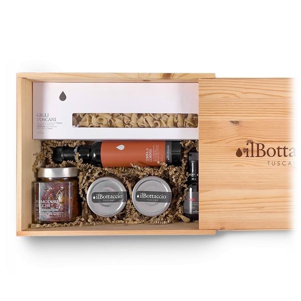 Il Bottaccio - Pasta Gift Box 1 - Tuscan Extra Virgin Olive Oil - Gift Ideas - Italian - High Quality